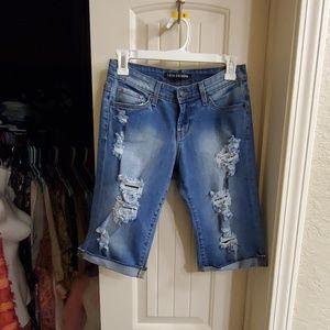 Sexy denim shorts